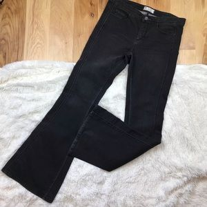 Free People Flare Black Jeans